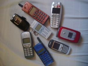 Mobiltelefonins utveckling